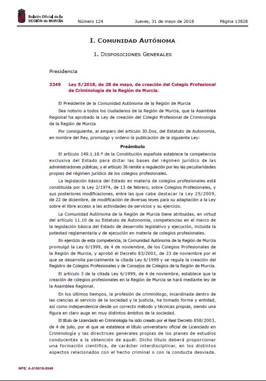 asociacion_criminologia_sociedad_cys_5_2018_ley_creacion_colegio_profesional_criminologia_region_murcia (1)