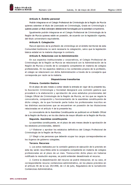 asociacion_criminologia_sociedad_cys_5_2018_ley_creacion_colegio_profesional_criminologia_region_murcia (3)