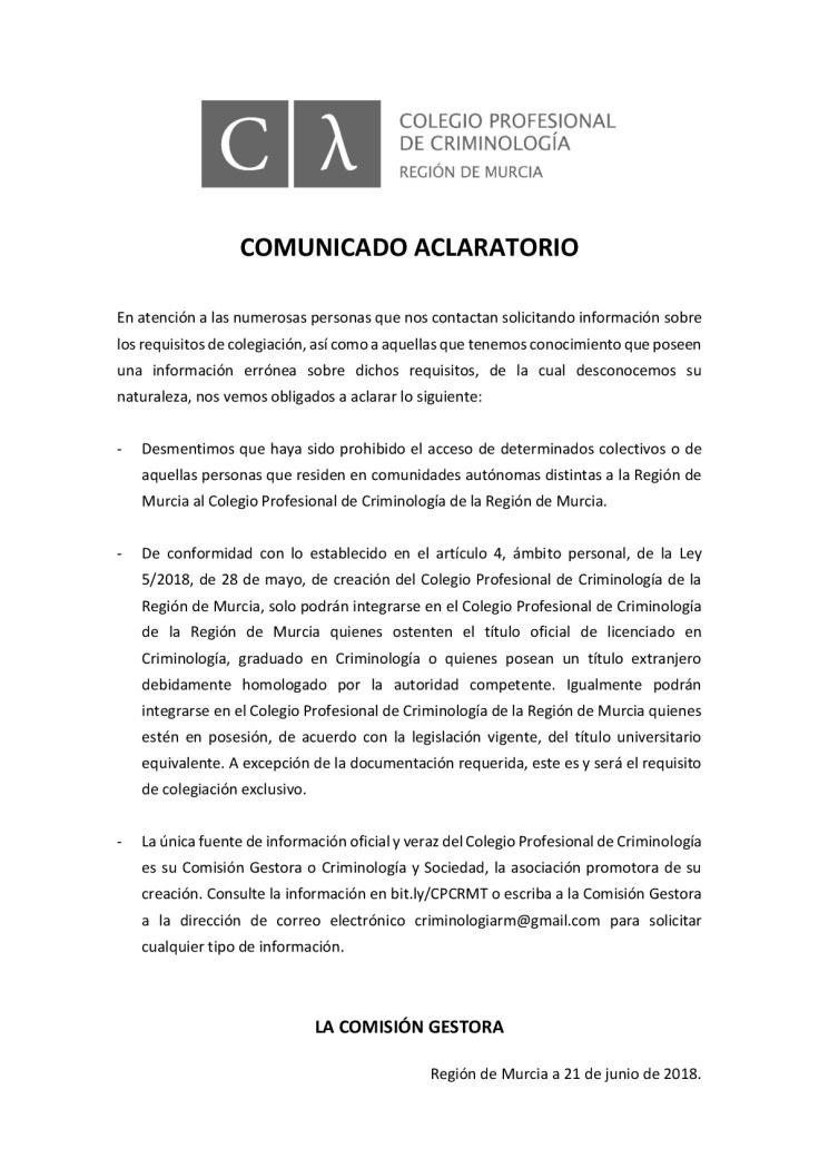 ntoledog_nicolas_toledo_colegio_profesional_criminologia_region_murcia_comision_gestora_cys